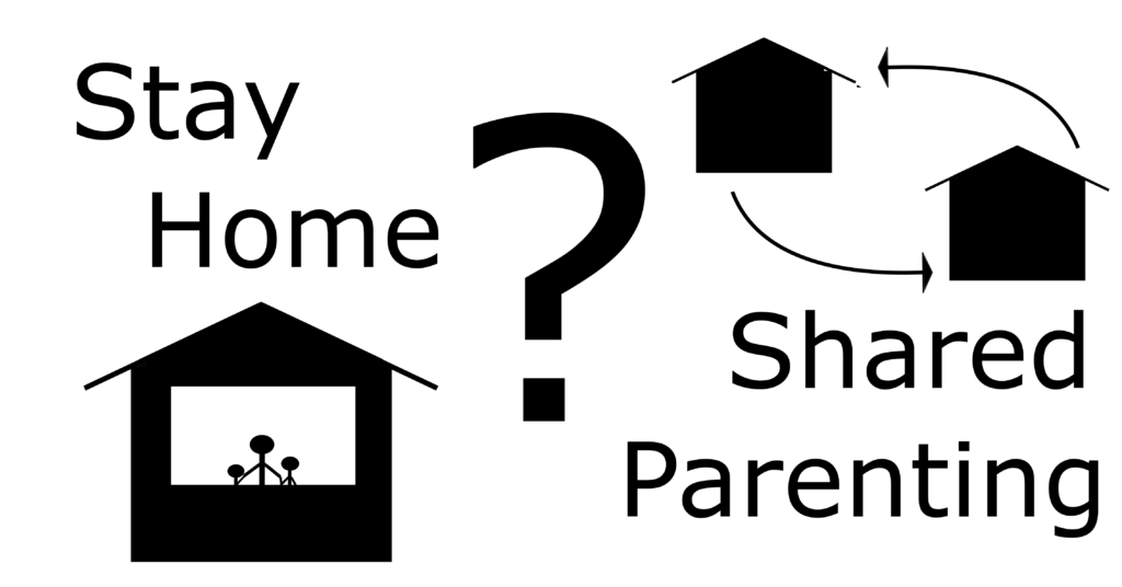 Covid-19 Shared parenting and staying at home